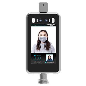 terminal de medición de temperatura de reconocimiento facial